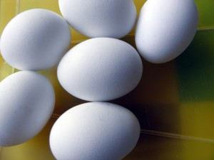 Яйца на Пасху
