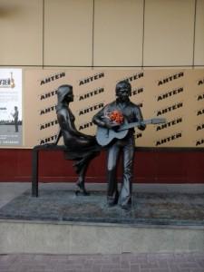 Екатеринбург памятник Высокцому