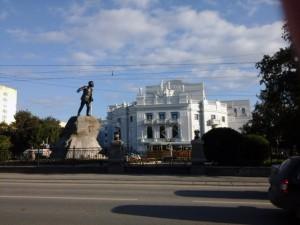Екатеринбург Памятник Свердлову, театр оперы и балета