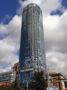 Екатеринбург небоскреб Высоцкий
