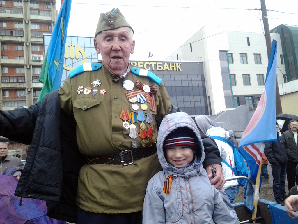 Парад победы 9 мая Магнитогорск